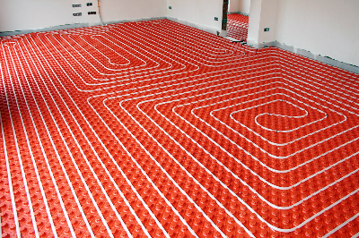 Hyrdonic heating warm floors